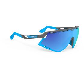 Rudy Project Defender Gafas, pyombo matte/azur/multilaser blue